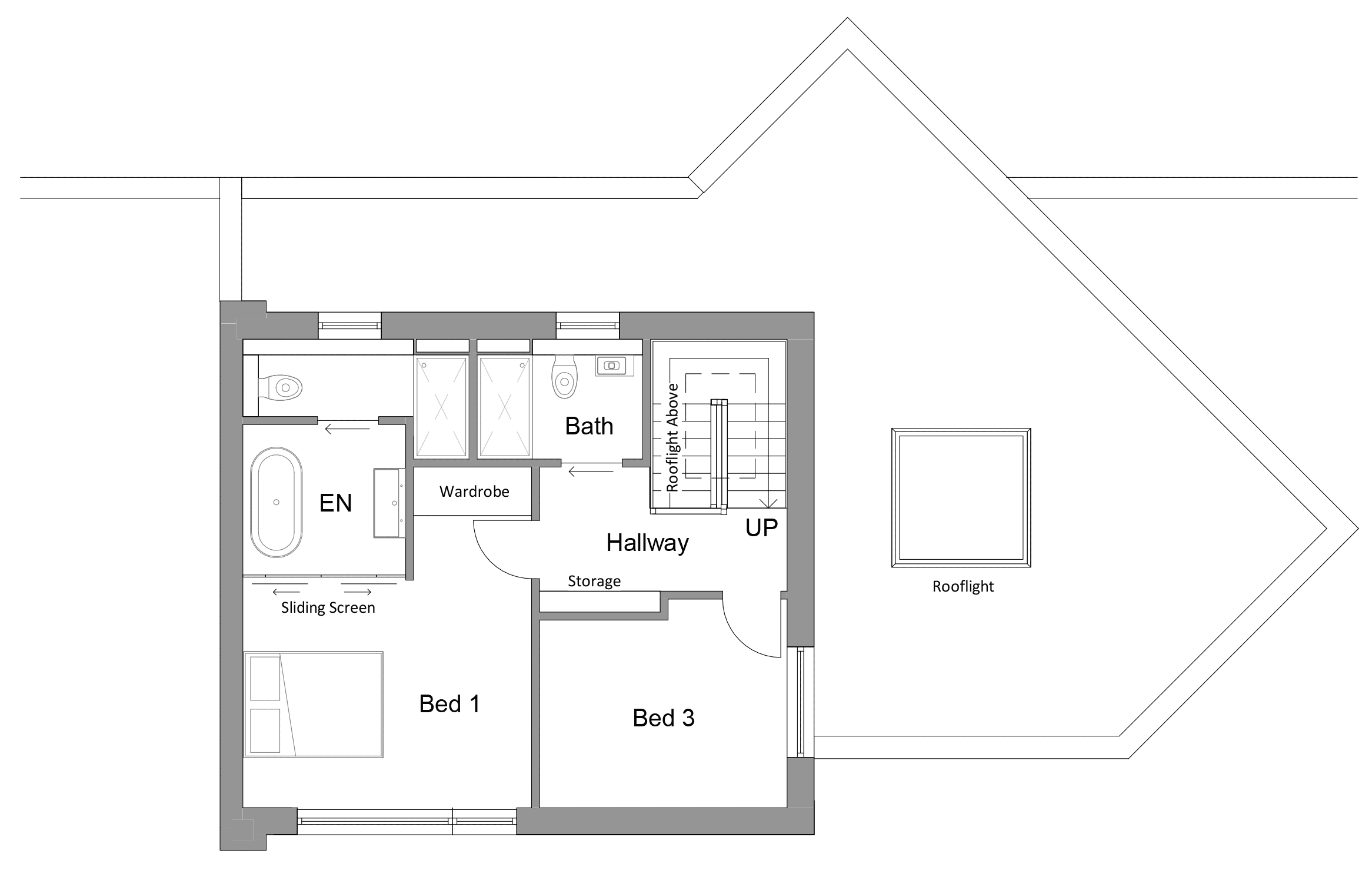 Plots 1-3 Second Floor